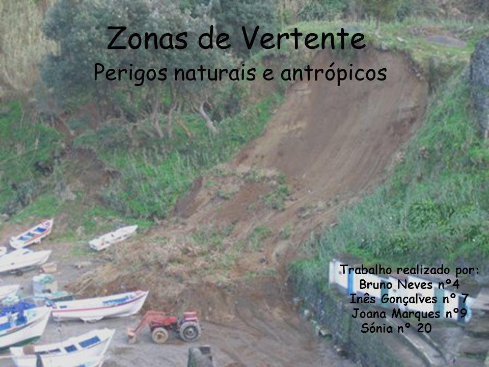 Perigos naturais e antrópicos