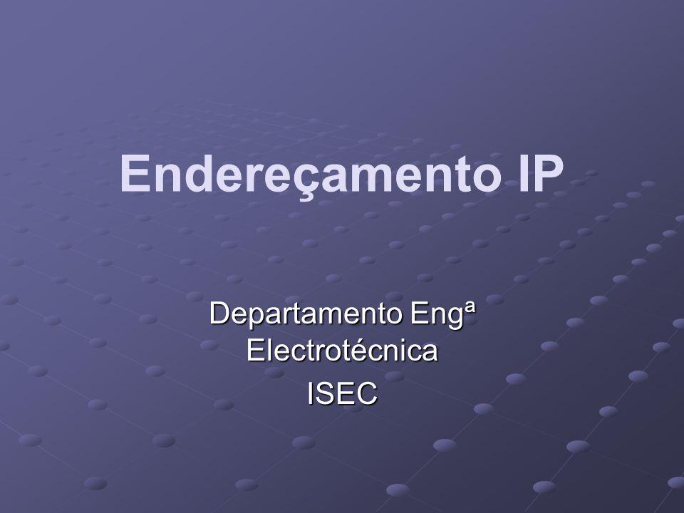 Departamento Engª Electrotécnica ISEC