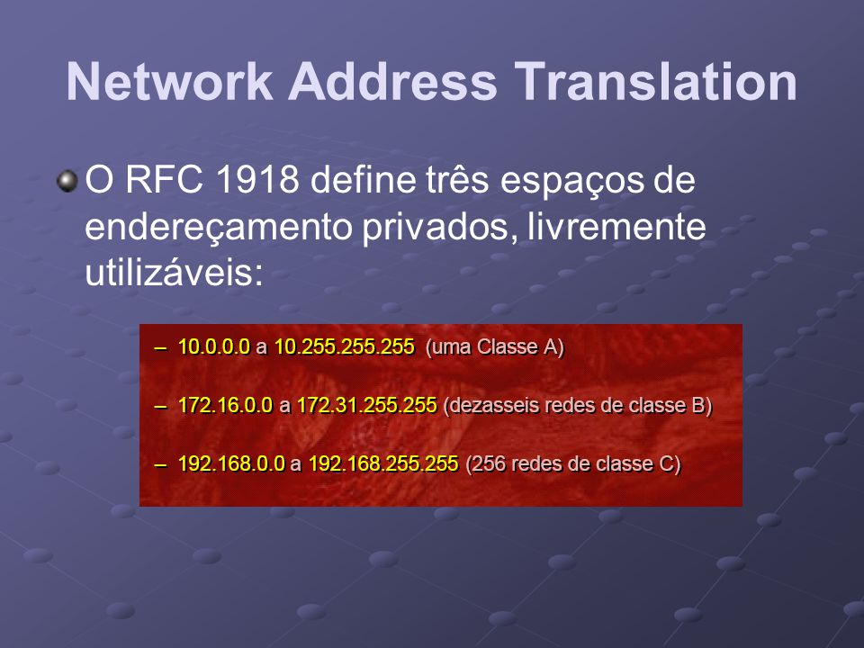 Network Address Translation