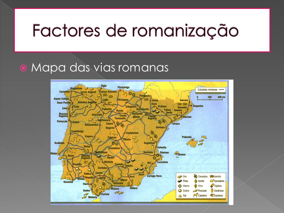 Factores de romanização