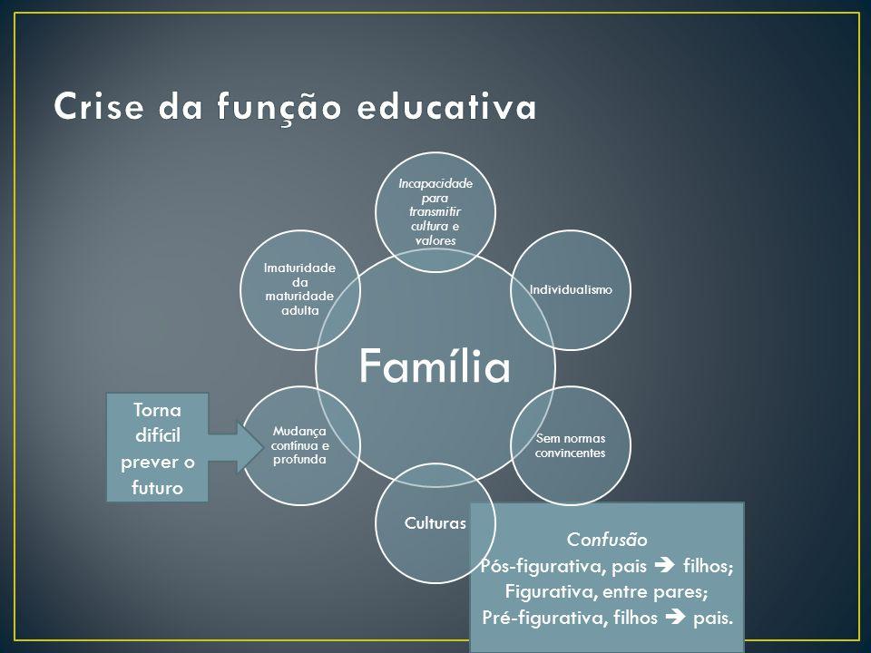Crise da função educativa