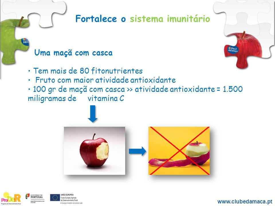 Fortalece o sistema imunitário