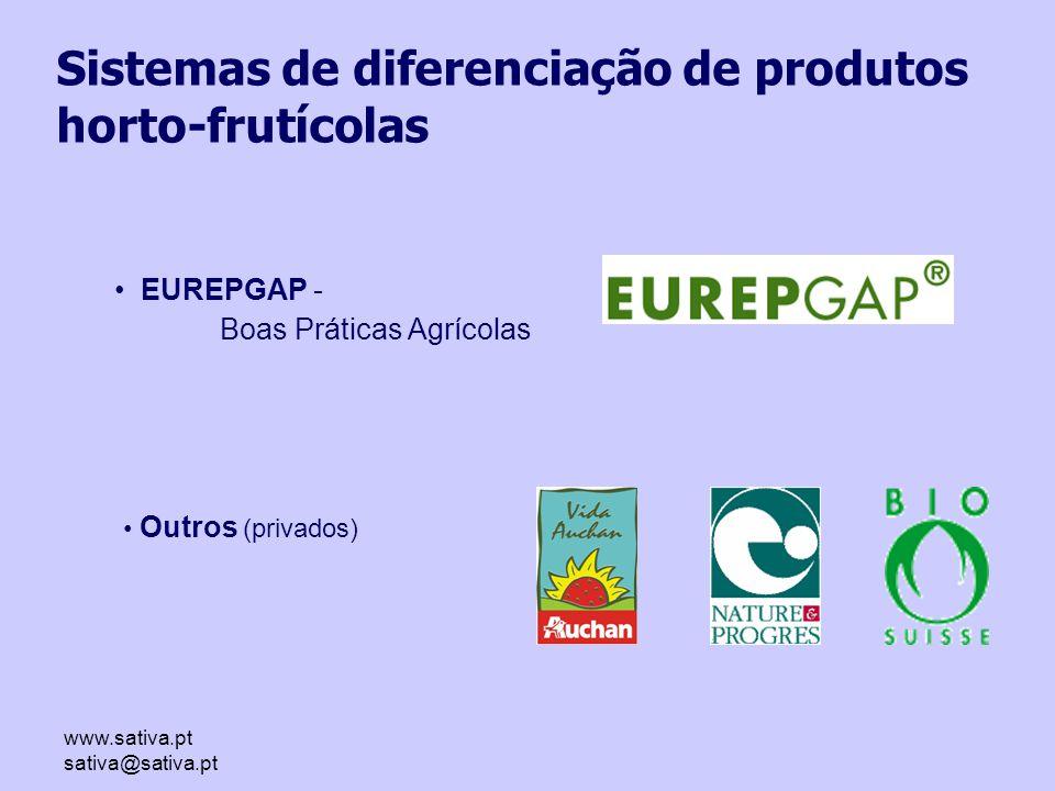 Sistemas de diferenciação de produtos horto-frutícolas