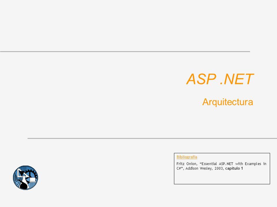 ASP .NET Arquitectura Bibliografia