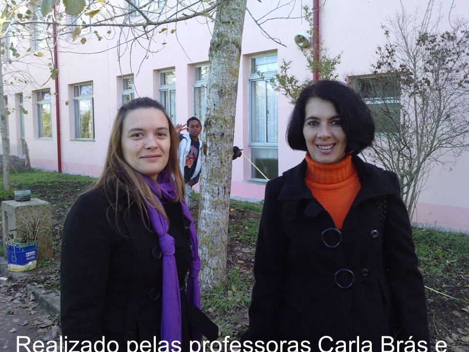 Realizado pelas professoras Carla Brás e Gertrudes Guerreiro