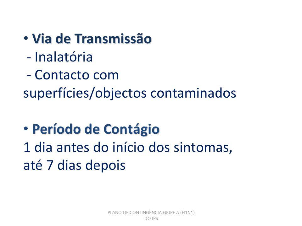 PLANO DE CONTINGÊNCIA GRIPE A (H1N1) DO IPS