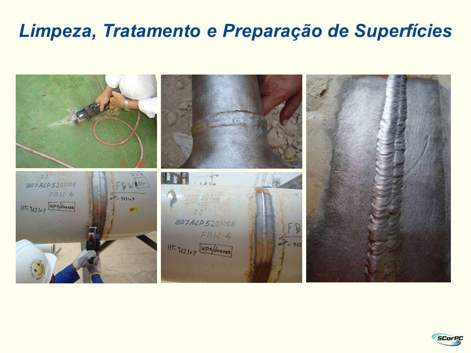 Limpeza, Tratamento e Preparação de Superfícies