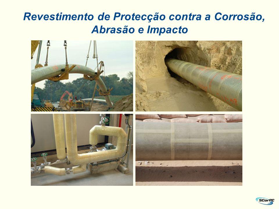 Revestimento de Protecção contra a Corrosão, Abrasão e Impacto