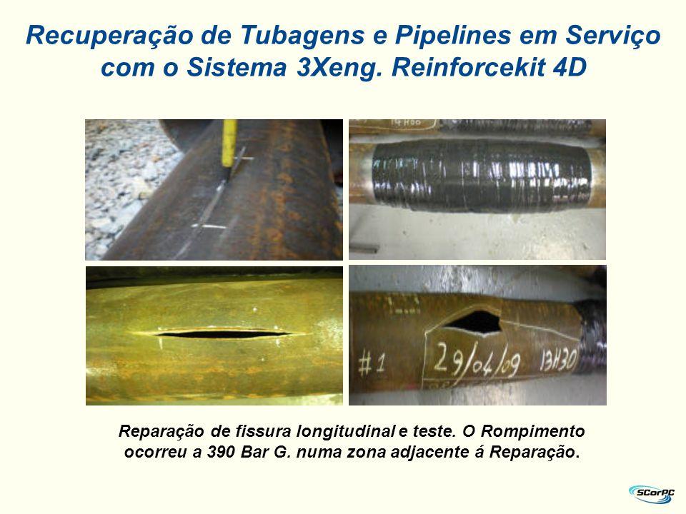 Recuperação de Tubagens e Pipelines em Serviço com o Sistema 3Xeng