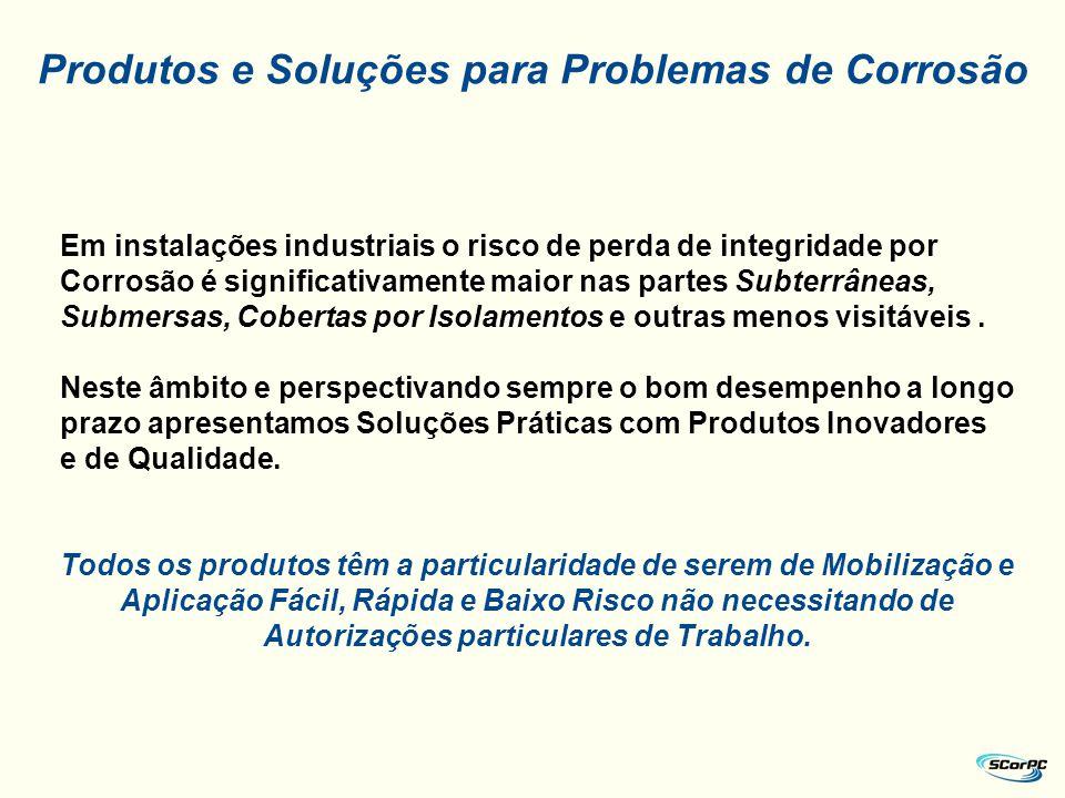 Produtos e Soluções para Problemas de Corrosão