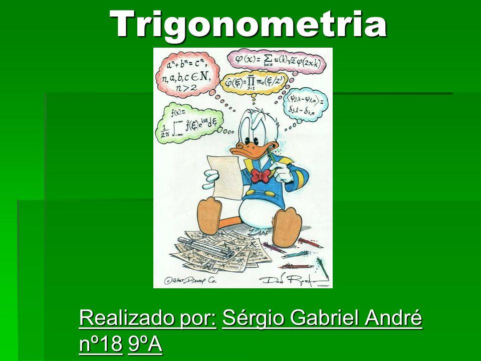 Realizado por: Sérgio Gabriel André nº18 9ºA