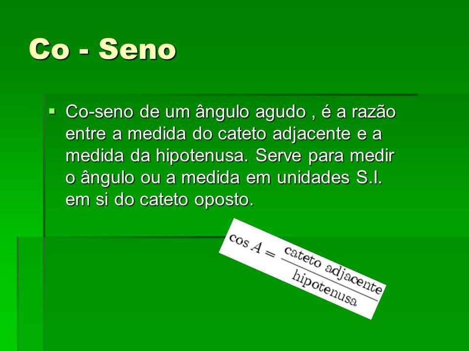 Co - Seno
