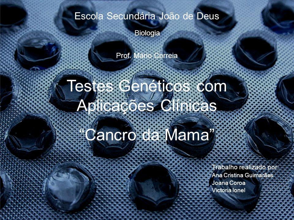 Testes Genéticos com Aplicações Clínicas Cancro da Mama