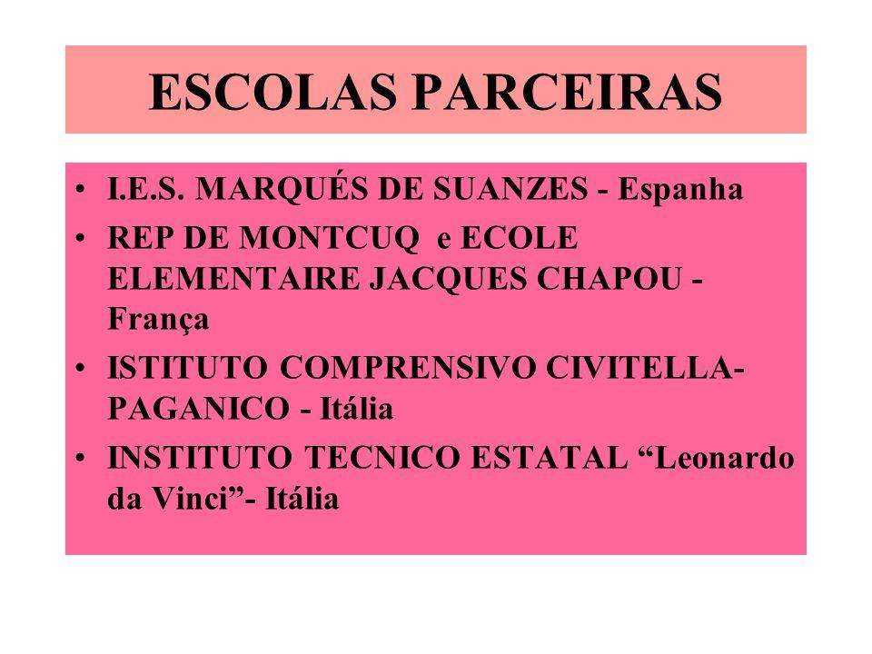 ESCOLAS PARCEIRAS I.E.S. MARQUÉS DE SUANZES - Espanha