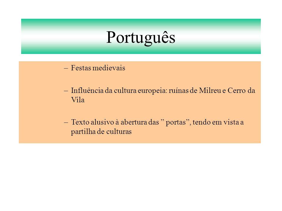 Português Festas medievais