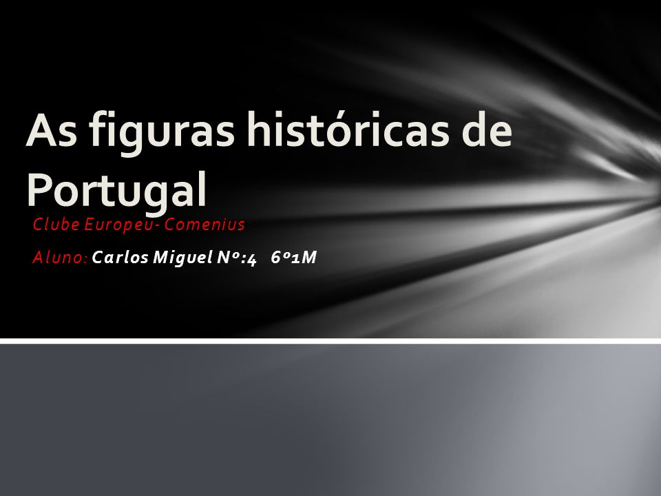 As figuras históricas de Portugal
