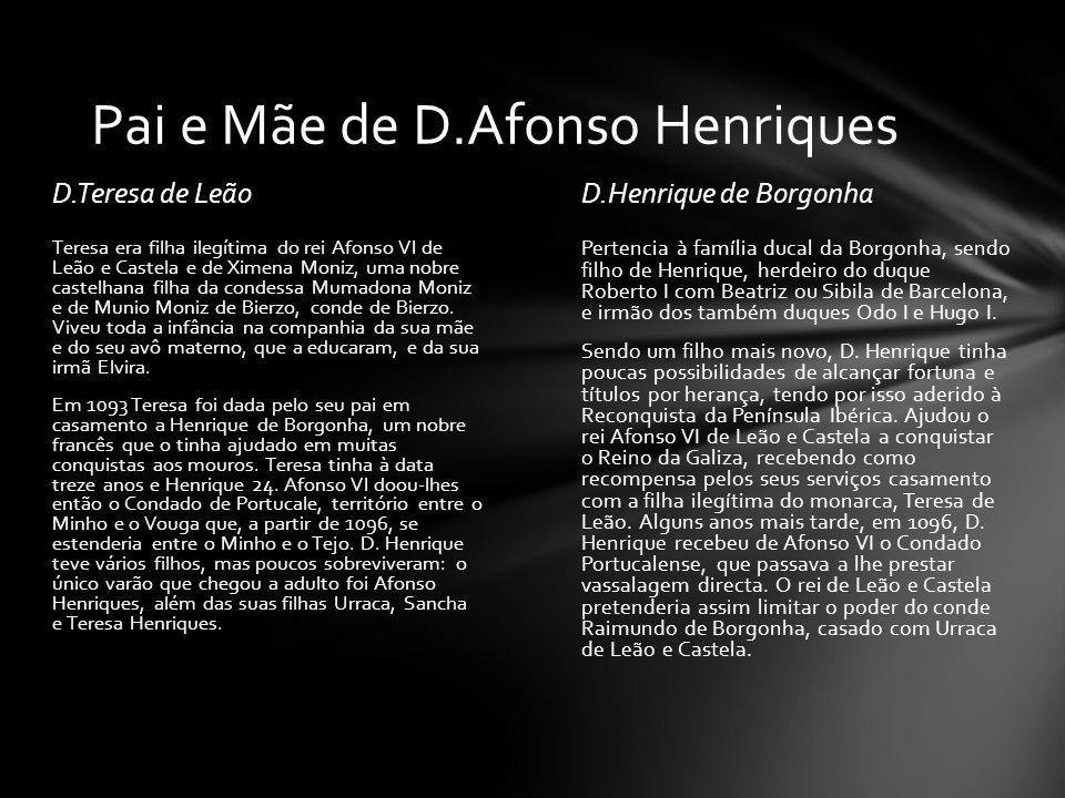 Pai e Mãe de D.Afonso Henriques