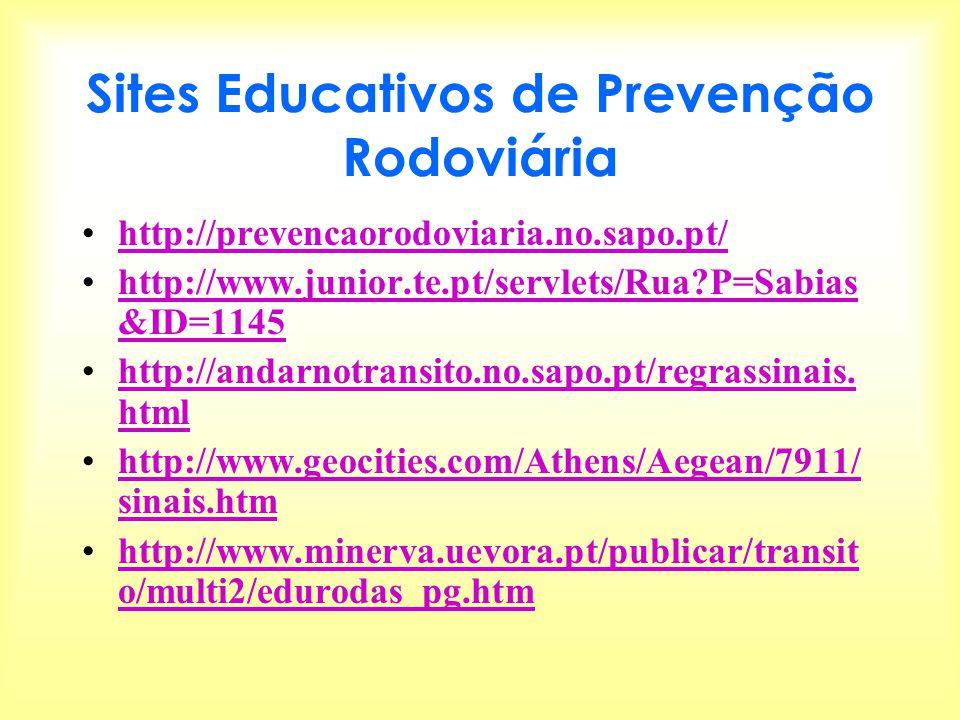 Sites Educativos de Prevenção Rodoviária