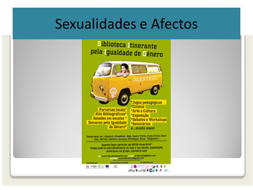 Sexualidades e Afectos