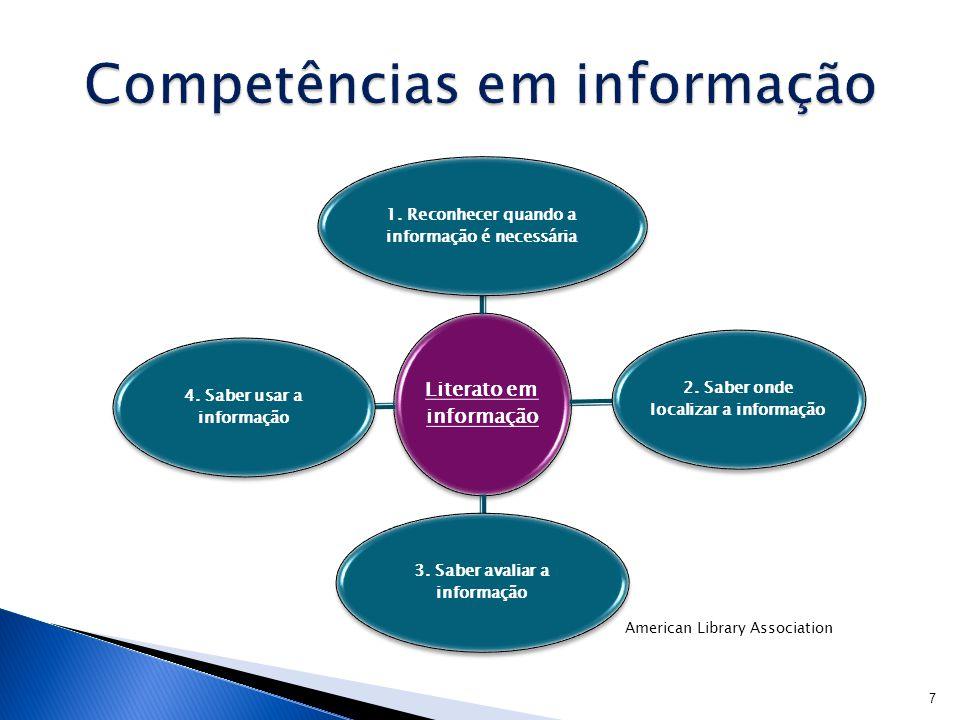 Competências em informação