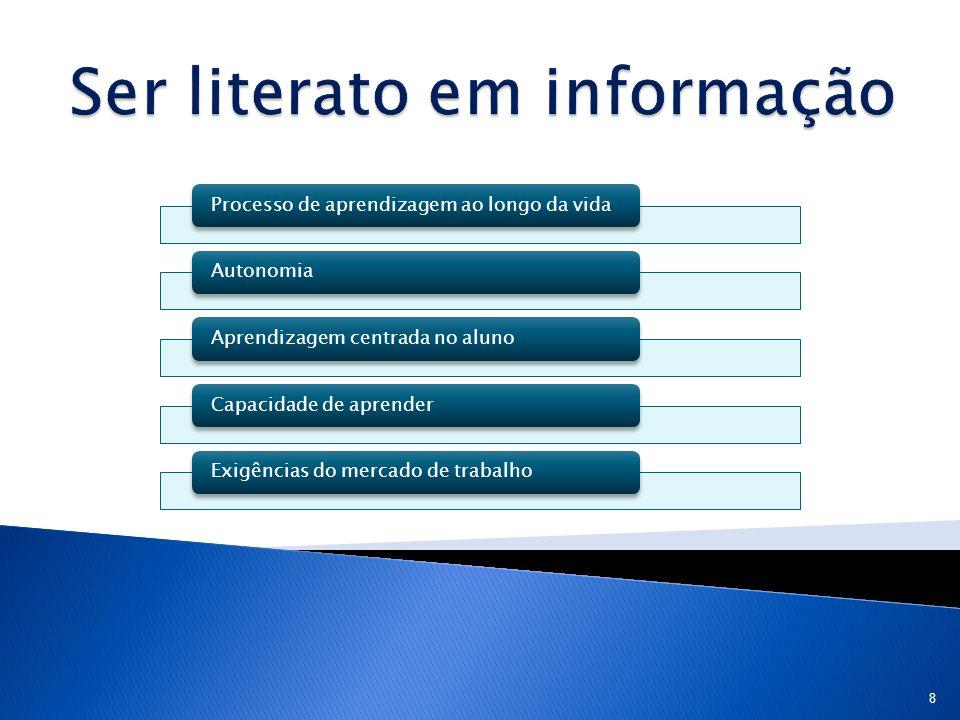 Ser literato em informação