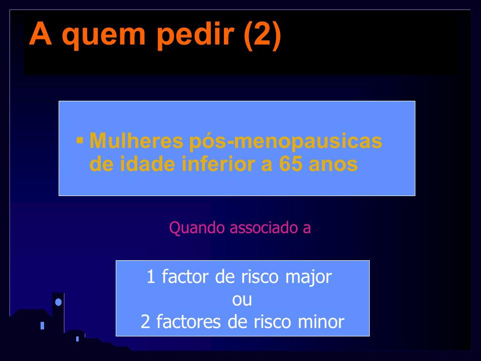 2 factores de risco minor