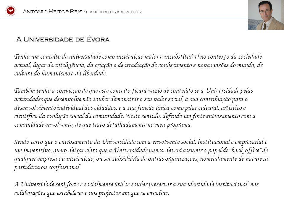 A Universidade de Évora