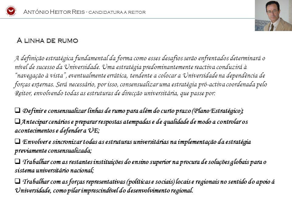António Heitor Reis - CANDIDATURA A REITOR