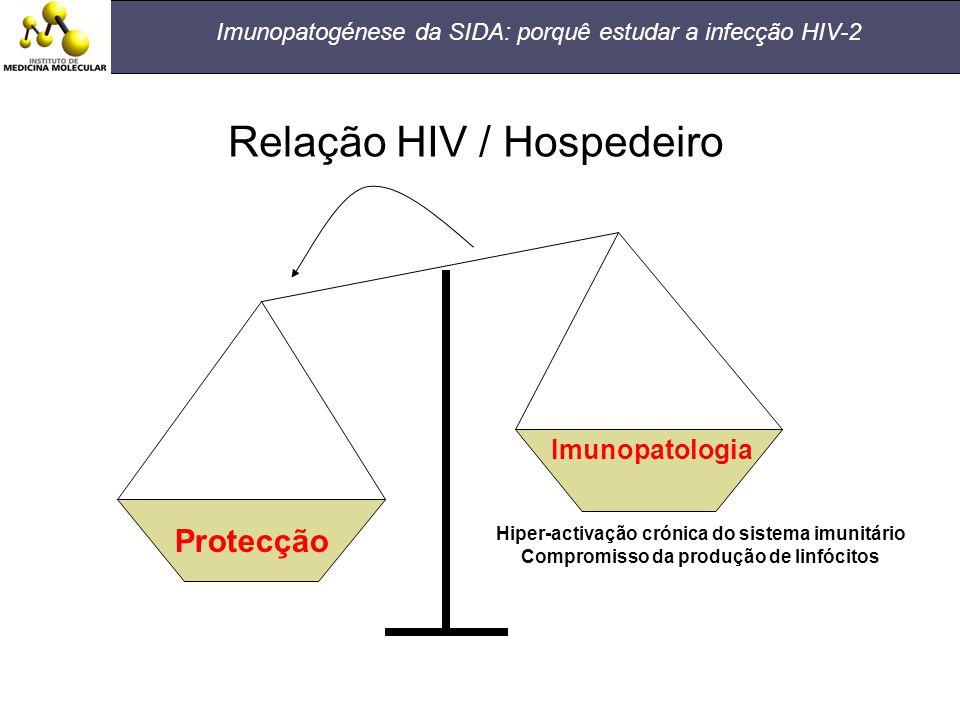 Relação HIV / Hospedeiro