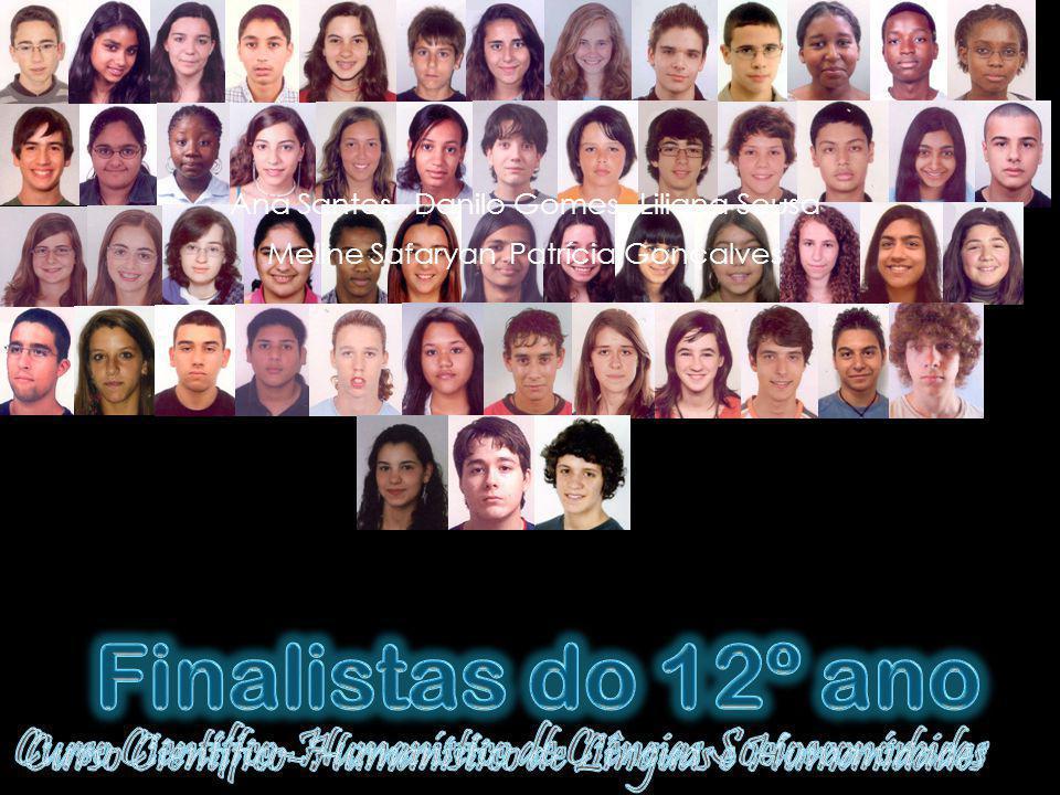Ana Santos Danilo Gomes Liliana Sousa