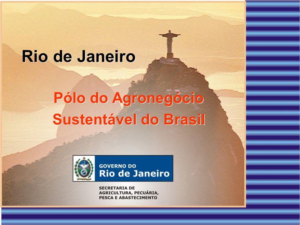 Rio de Janeiro Pólo do Agronegócio Sustentável do Brasil