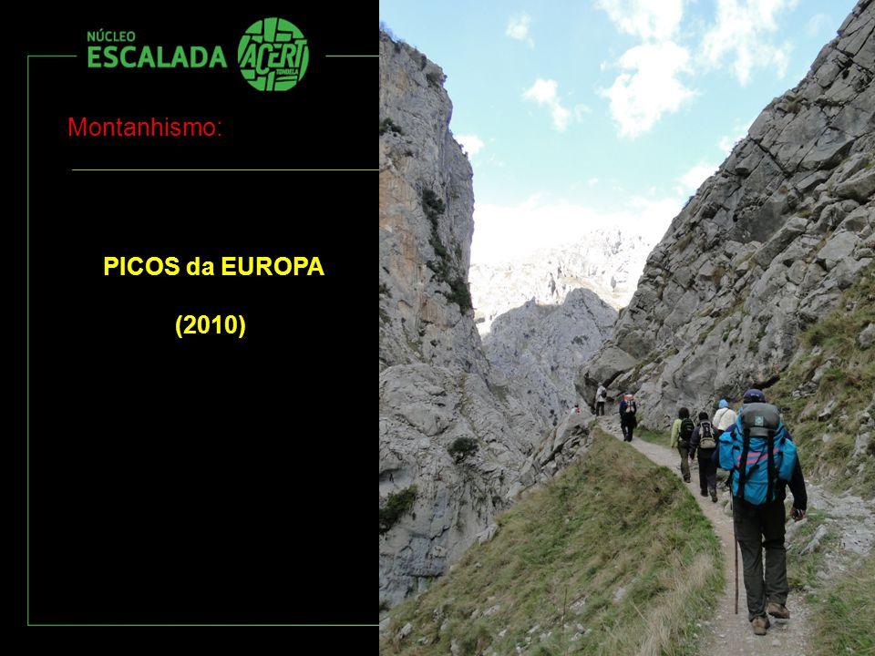 Montanhismo: PICOS da EUROPA (2010)