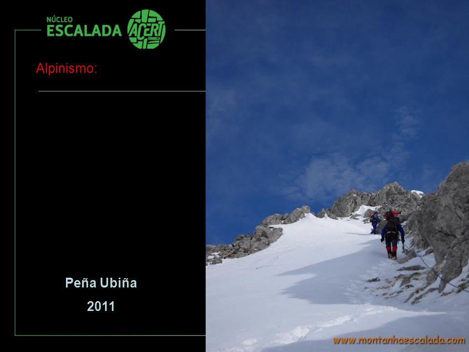 Alpinismo: Peña Ubiña 2011