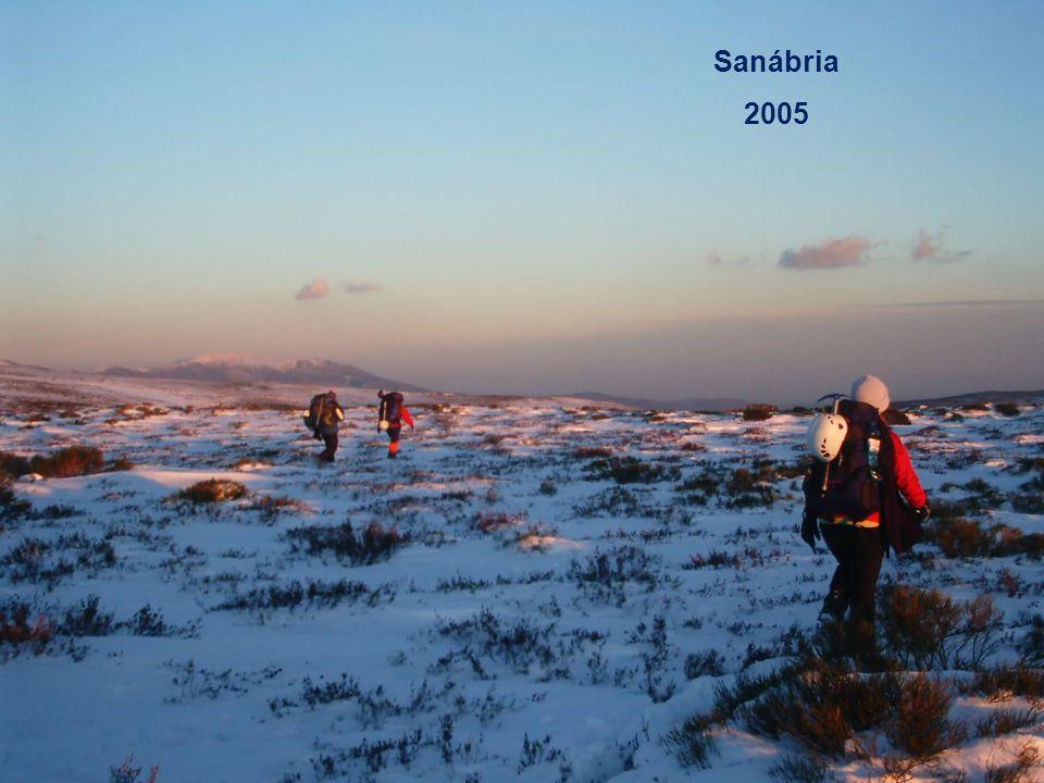 Sanábria 2005 Alpinismo: