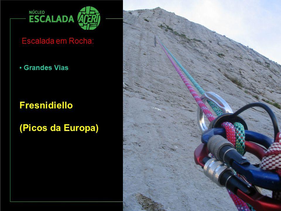 Escalada em Rocha: Grandes Vias Fresnidiello (Picos da Europa)