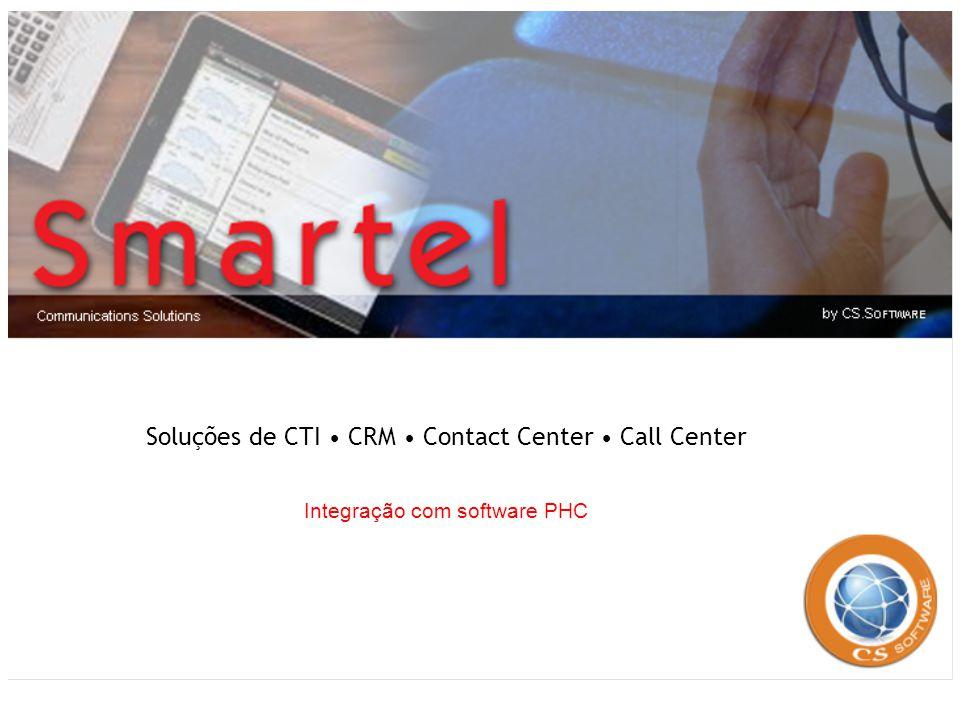 Soluções de CTI • CRM • Contact Center • Call Center
