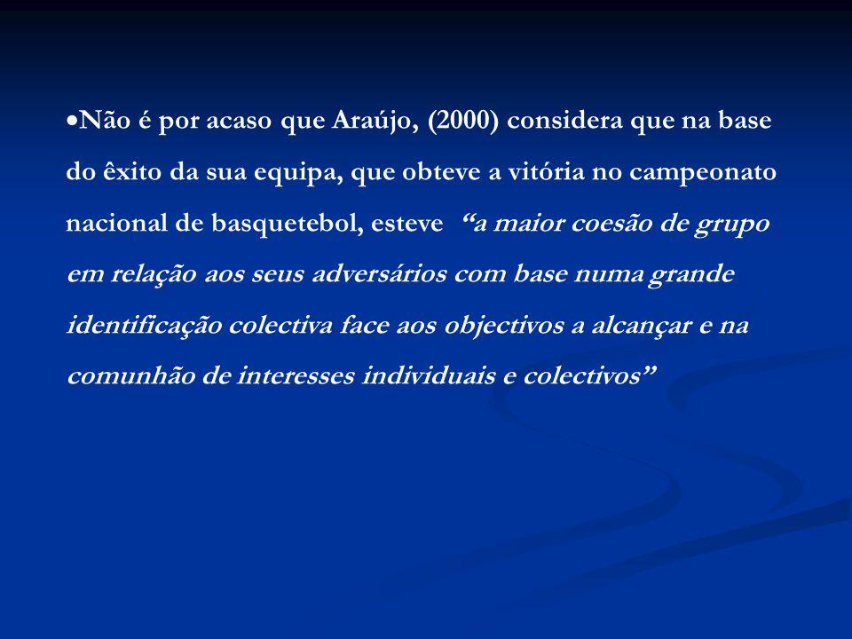 Não é por acaso que Araújo, (2000) considera que na base
