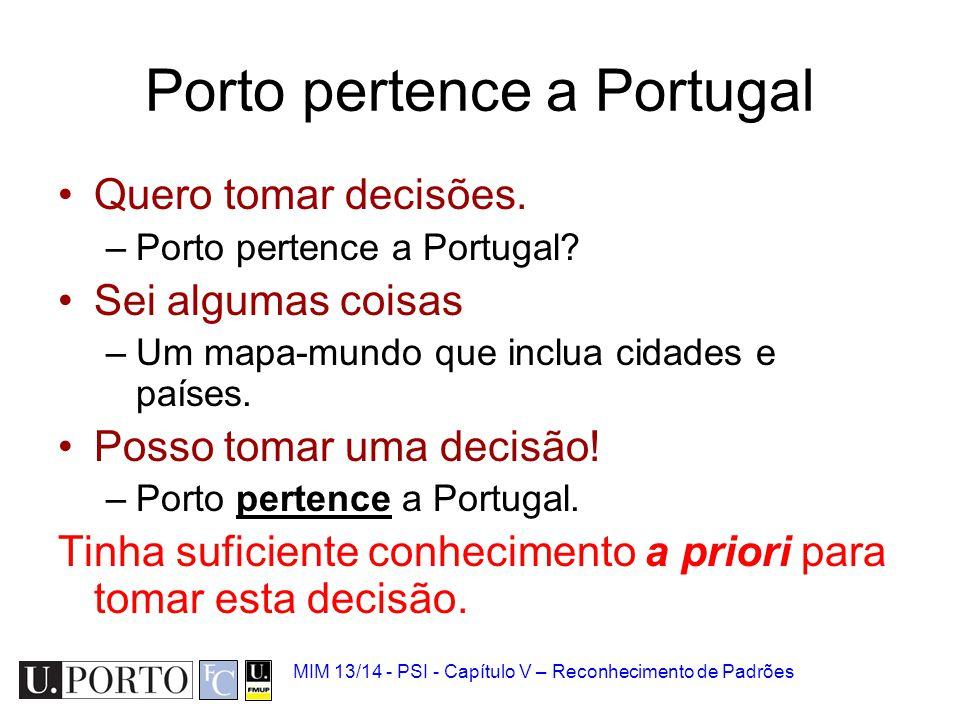 Porto pertence a Portugal