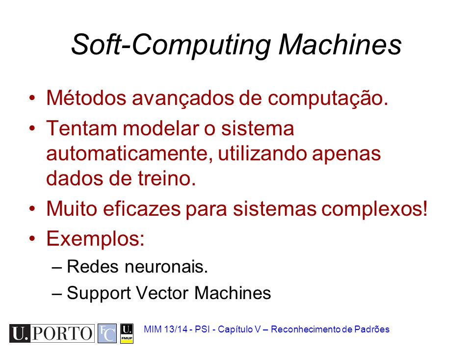 Soft-Computing Machines