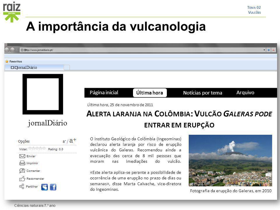 Alerta laranja na Colômbia: Vulcão Galeras pode entrar em erupção