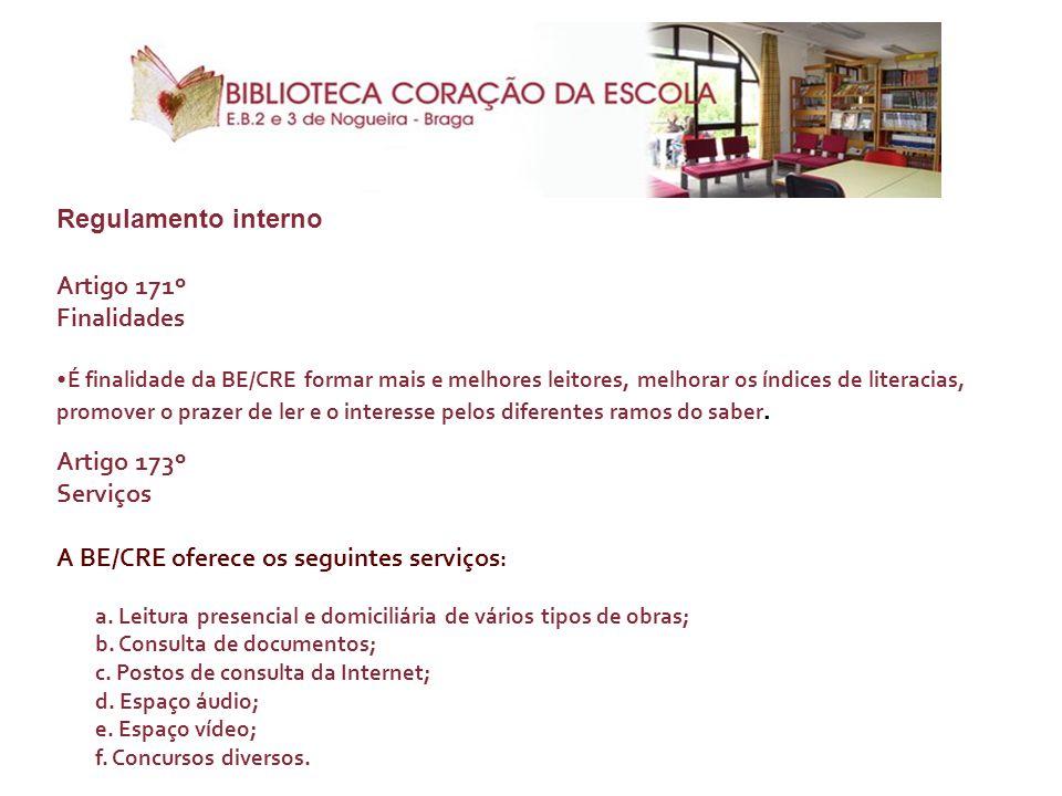A BE/CRE oferece os seguintes serviços: