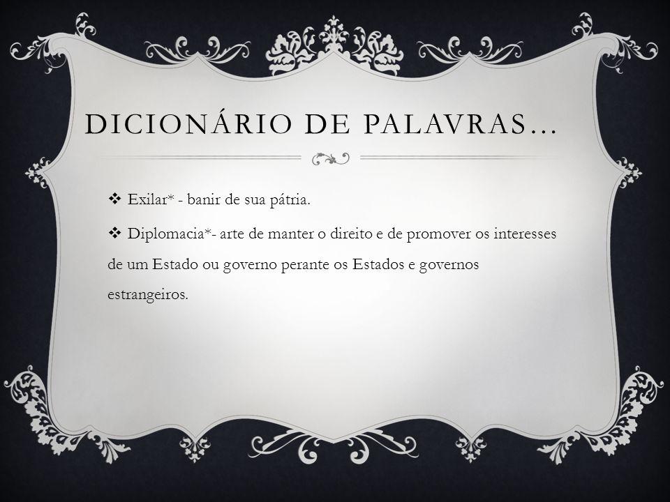 Dicionário de palavras…