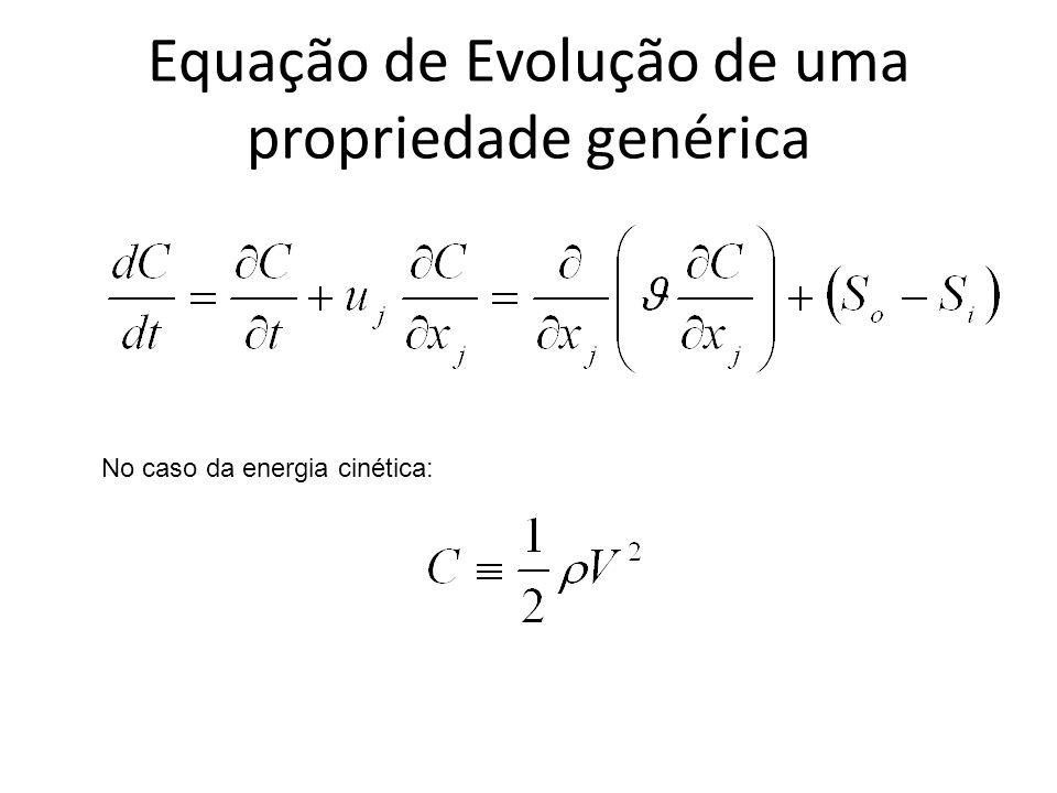 Equação de Evolução de uma propriedade genérica