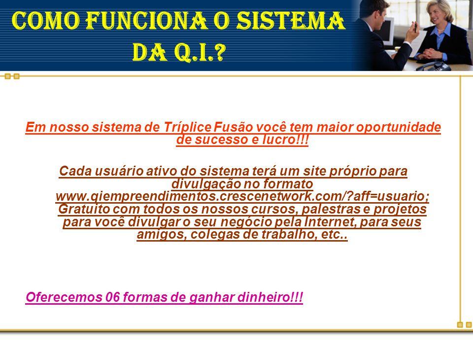 COMO FUNCIONA O SISTEMA DA Q.I.