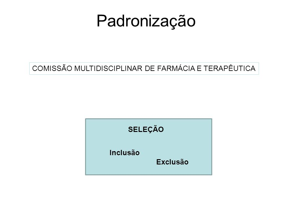 COMISSÃO MULTIDISCIPLINAR DE FARMÁCIA E TERAPÊUTICA