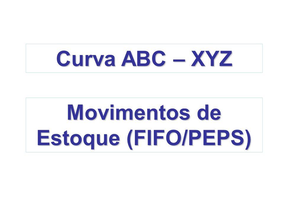 Movimentos de Estoque (FIFO/PEPS)