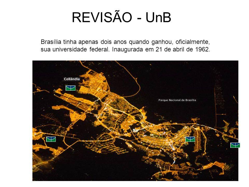 REVISÃO - UnB Brasília tinha apenas dois anos quando ganhou, oficialmente, sua universidade federal.