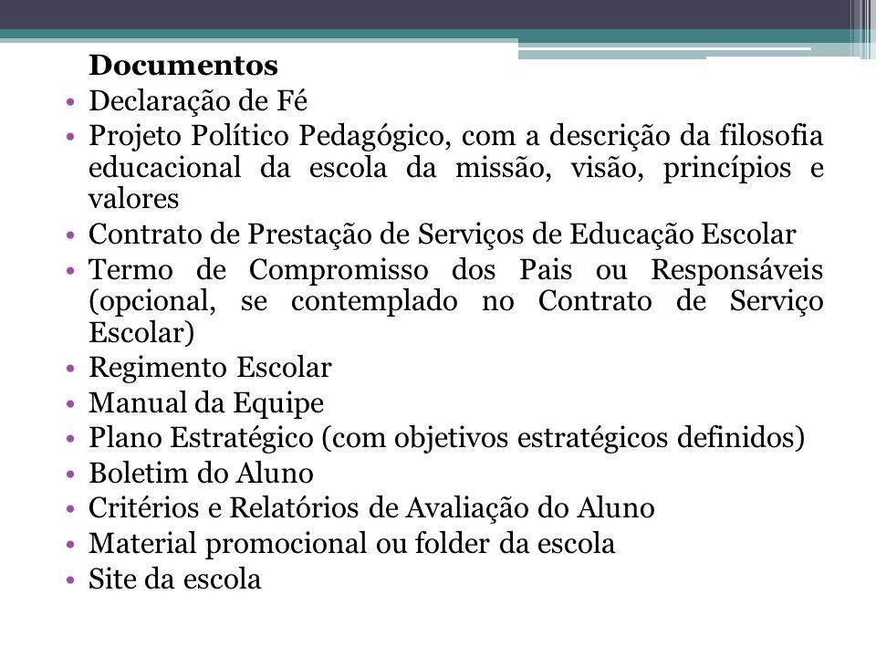 Documentos Declaração de Fé.