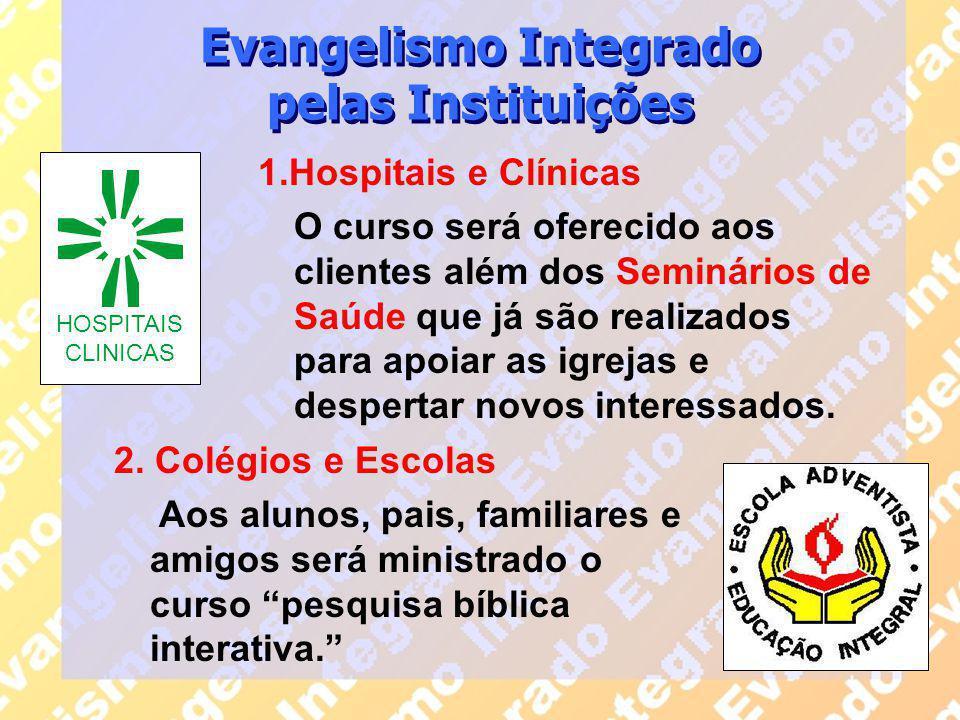 Evangelismo Integrado pelas Instituições