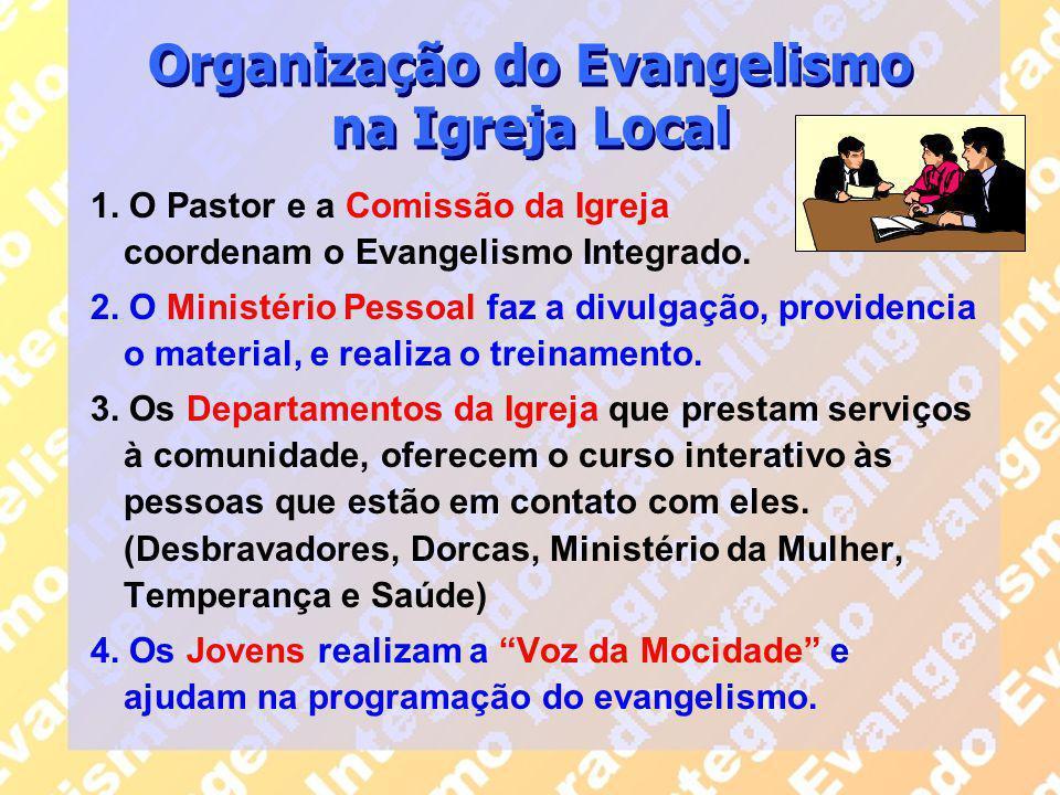Organização do Evangelismo na Igreja Local